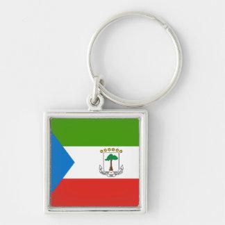 Equatorial Guinea Flag Key Ring