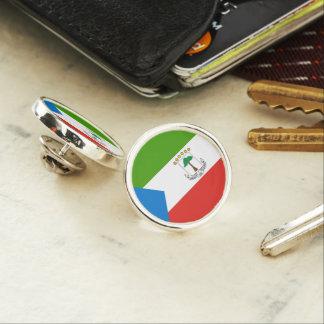 Equatorial Guinea Flag Lapel Pin