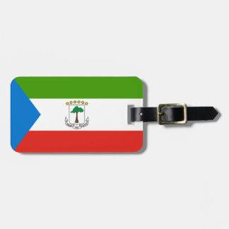 Equatorial Guinea Flag Luggage Tag