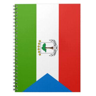 Equatorial Guinea Flag Notebook