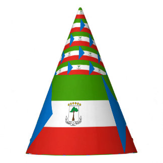 Equatorial Guinea Flag Party Hat