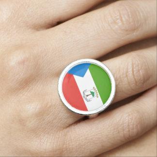 Equatorial Guinea Flag Ring