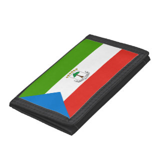 Equatorial Guinea Flag Tri-fold Wallet