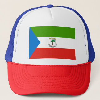 Equatorial Guinea Flag Trucker Hat