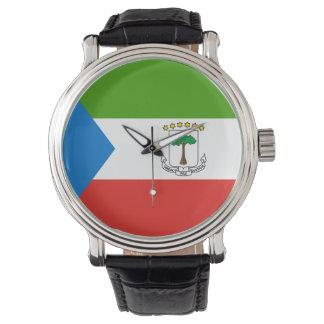 Equatorial Guinea Flag Watch