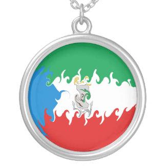 Equatorial Guinea Gnarly Flag Necklaces