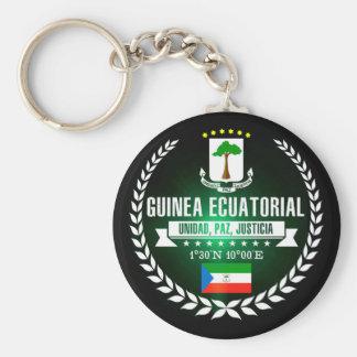 Equatorial Guinea Key Ring