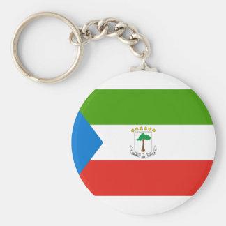 Equatorial Guinea National World Flag Key Ring