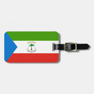 Equatorial Guinea National World Flag Luggage Tag