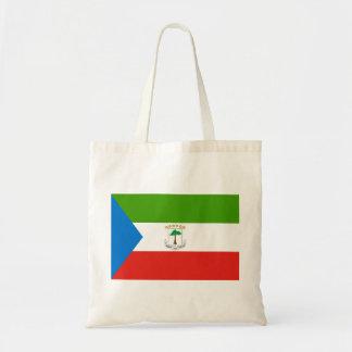 Equatorial Guinea National World Flag Tote Bag