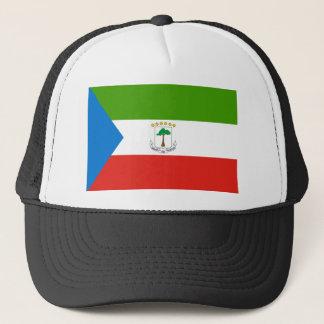 Equatorial Guinea National World Flag Trucker Hat