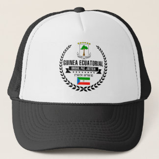 Equatorial Guinea Trucker Hat