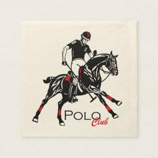 equestria polo sport club disposable napkin