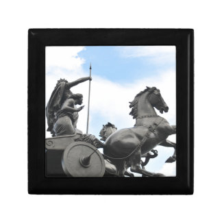 Equestrian architecture in London Small Square Gift Box