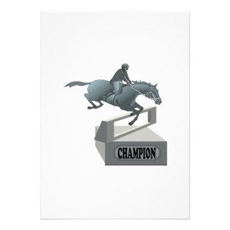 Equestrian Champion Custom Invites