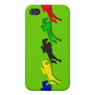 Equestrian dressage and show jumping horse iPhone 4/4S cover
