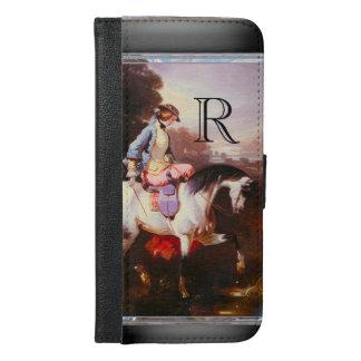 Equestrian Elsa 6/6s Monogram iPhone 6/6s Plus Wallet Case