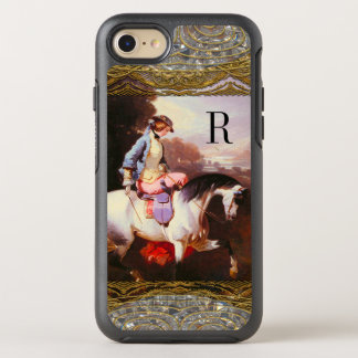 Equestrian Elsa 6/6s Monogram OtterBox Symmetry iPhone 8/7 Case
