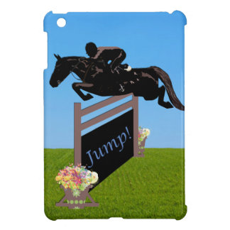 Equestrian Horse Jumper iPad Mini Cases