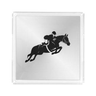 Equestrian Jumper Acrylic Tray