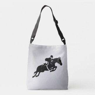 Equestrian Jumper Crossbody Bag