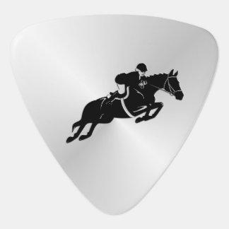 Equestrian Jumper Guitar Pick