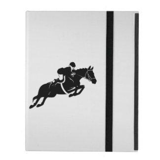 Equestrian Jumper iPad Case