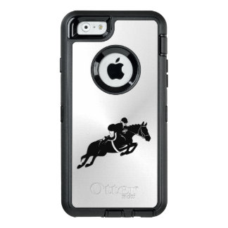 Equestrian Jumper OtterBox Defender iPhone Case