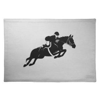 Equestrian Jumper Placemat