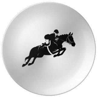 Equestrian Jumper Plate