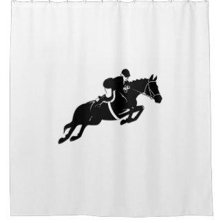 Equestrian Jumper Shower Curtain