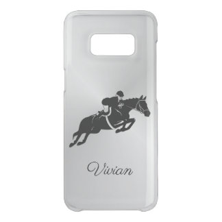 Equestrian Jumper with Name Uncommon Samsung Galaxy S8 Case
