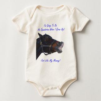 Equestrian Kids/Baby Baby Bodysuits