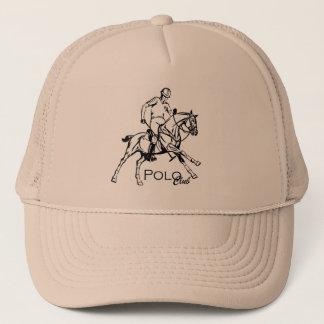equestrian polo club trucker hat