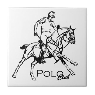 equestrian polo sport club tile