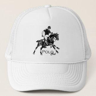 equestrian polo sport trucker hat