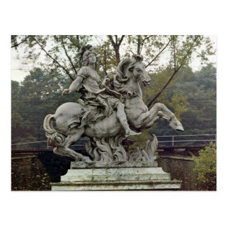 Equestrian Portrait of Louis XIV 2 Postcard