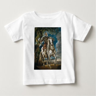 Equestrian Portrait of the Duke of Lerma - Rubens Baby T-Shirt