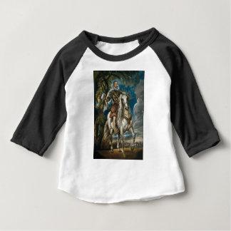Equestrian Portrait of the Duke of Lerma - Rubens Baby T-Shirt