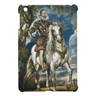 Equestrian Portrait of the Duke of Lerma Rubens iPad Mini Case