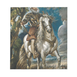 Equestrian Portrait of the Duke of Lerma - Rubens Notepads