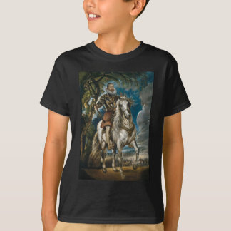 Equestrian Portrait of the Duke of Lerma - Rubens T-Shirt