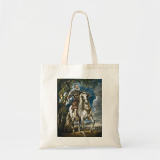 Equestrian Portrait of the Duke of Lerma Rubens Tote Bag