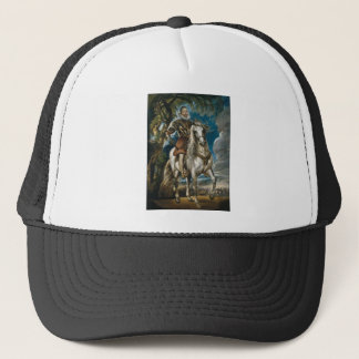 Equestrian Portrait of the Duke of Lerma - Rubens Trucker Hat