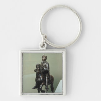 Equestrian statue of Charlemagne Key Ring