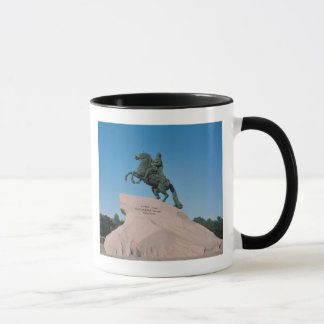 Equestrian statue of Peter I  the Great, 1782 Mug