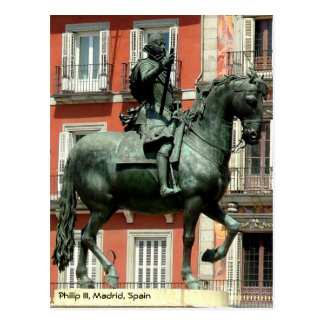 Equestrian statue of Philip III, Madrid Postcard