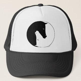 Equestrian Ying Yang Trucker Hat