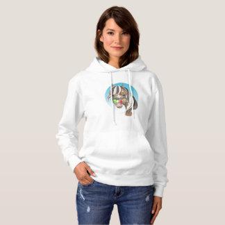 Equi-toons 'Apple Magnet' horse   hoodie. Hoodie