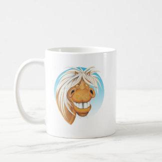 Equi-toons 'Cheeky Chappie' horse companion . Coffee Mug